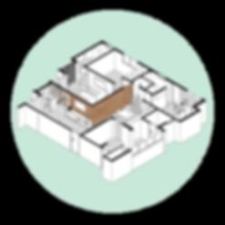 Apartamento EG por MEIUS ARQUITETURA