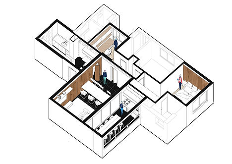 Apartamento JR por MEIUS ARQUITETURA