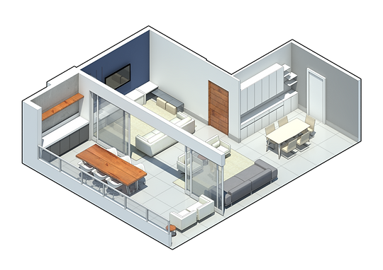 Apartamento ZM por MEIUS ARQUITETURA