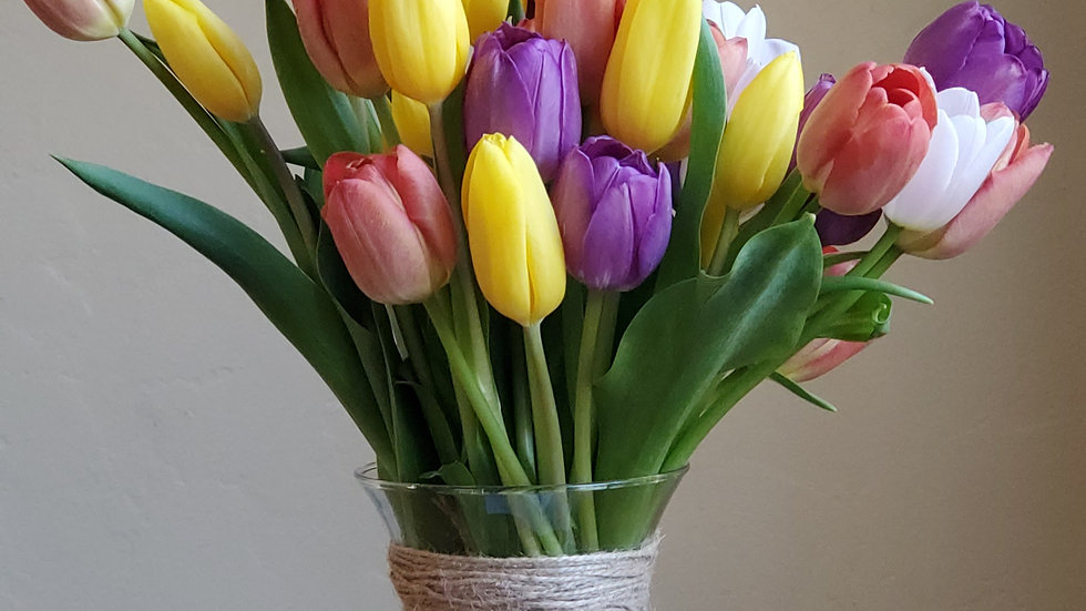 3 Dozen Tulips