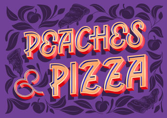 Peaches and Pizza