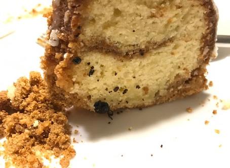 Key Lime Bundt Cake with Graham Streusel