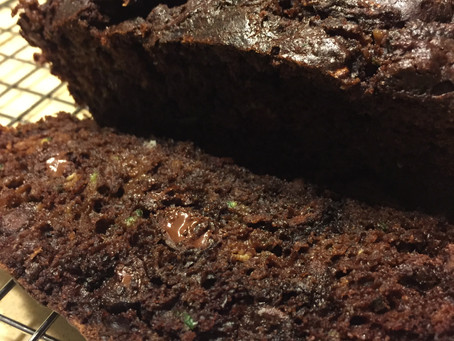 Deep Dark Delicious Double Chocolate Zucchini Bread