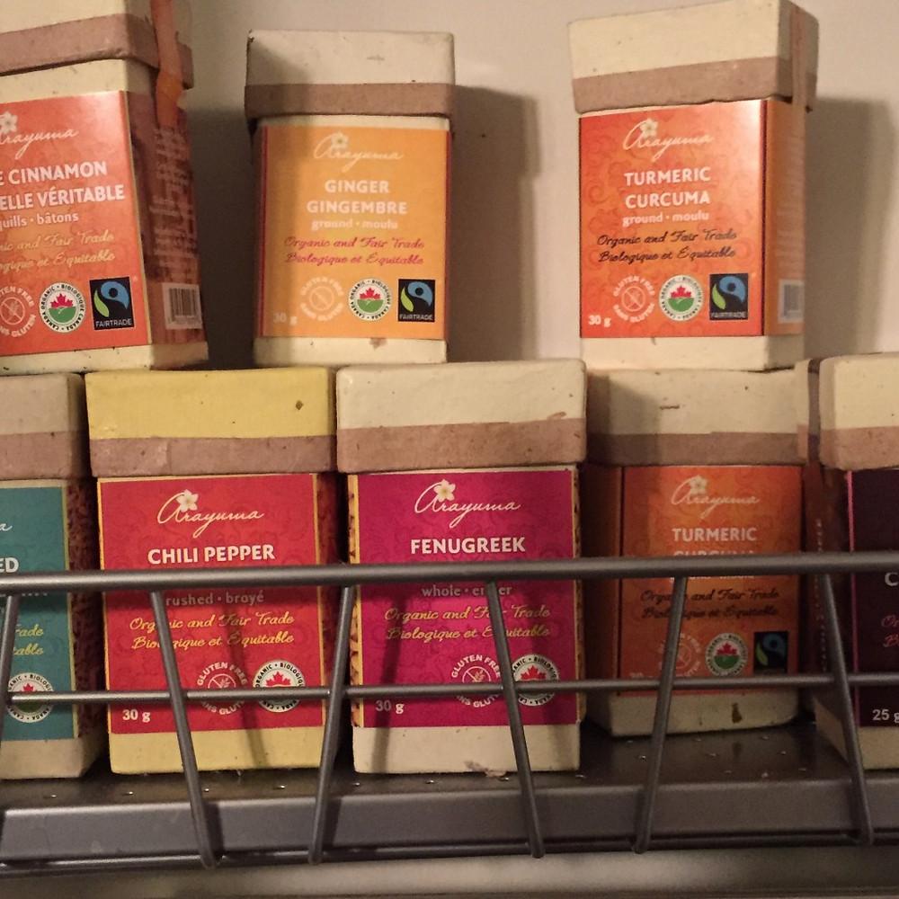 Arayuma Organic Gluten Free for clean cooking