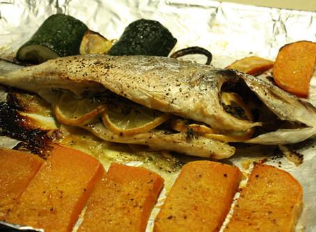 Whole Roasted Succulent Fish