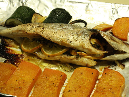 Whole Roasted Succulent Fish