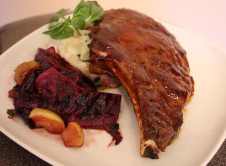 Prime Rib Steak!…My Favourite Cut with Smoky Spicy Sticky BBQ Sauce