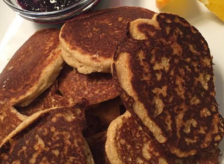 Gluten Free Coconut Pancakes