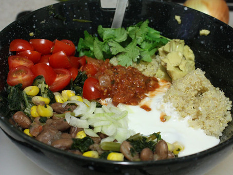 Mexican Power Lunch Salad Bowl…Pronto!