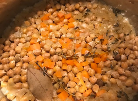 How to Make Chickpeas in an Instant Pot