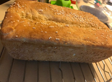 White Sandwich Bread with Hidden Oats for Fibre