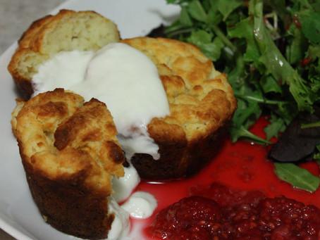Ricotta Muffins for Dinner