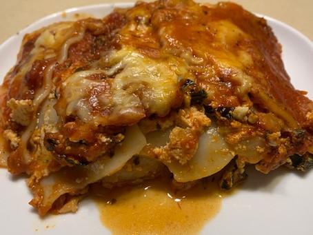 Zesty Turkey Lasagna - Can be Gluten Free!