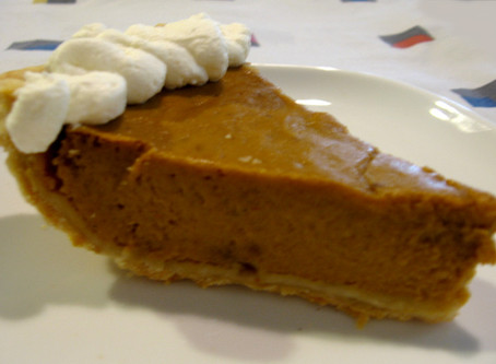 My Perfectly Spiced Pumpkin Pie