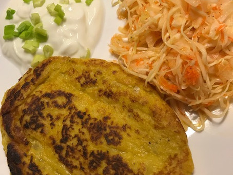 Fresh Pumpkin Potato Pancakes
