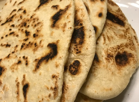 Naan Bread Easy From Scratch