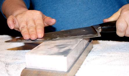 Konosuke Japanese Waterstone knife sharpening.