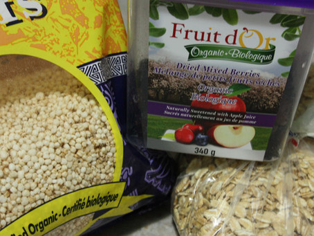 Honey Nut Whole Grain Seeds and Berries Cereal