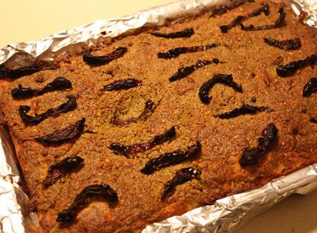 Gluten Free Focaccia & Pistachio Basil Pesto