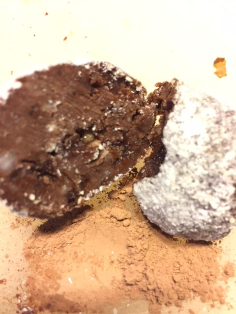 Cacao Nut Truffle Centre