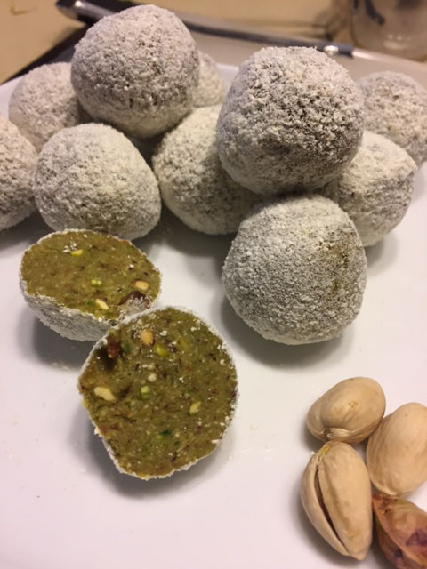 Pistachio Lemon Truffles | Eating healthy | Cooking healthy