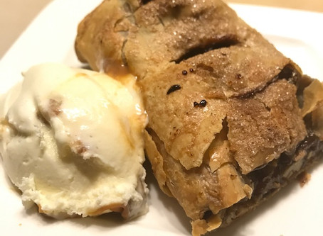 Apple Walnut Mini Strudels