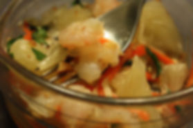 Vietnamese Pomelo and Shrimp Salad