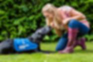 Samantha Grant Guide Dog for the blind volunteer
