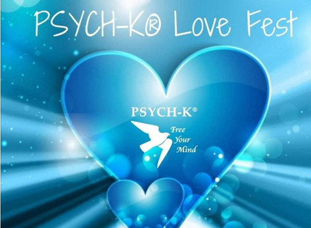 FREE 15-min PSYCH-K® - Offered ends 4th April 2020