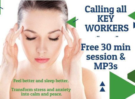 Free 30-min online session for UK Key Workers* - offer ends 31 August 2020
