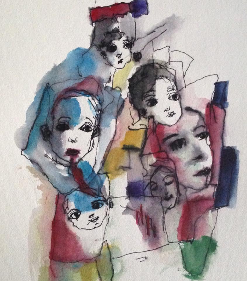 Intersezione di sei figure