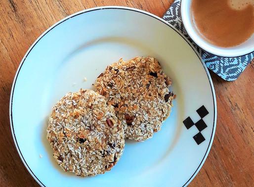 Havermout ontbijtkoekjes