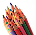 Grupo de lápices de colores