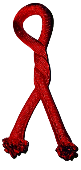 Better Off Red - Beaded Knot - Set of 2