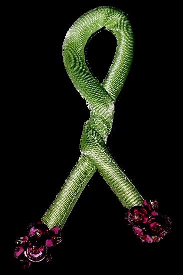 Mint Tulip - Sequins Knot - Set of 2