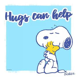 Hugs can help