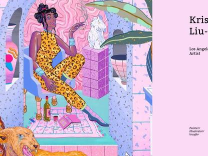 瞧瞧藝術 ChiaoxArt 女性身體樣貌不只一種,美國藝術家 Kristen Liu-Wong 畫出繽紛色彩的情慾女體畫作