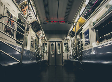 Subway Poles and Coffee Mugs
