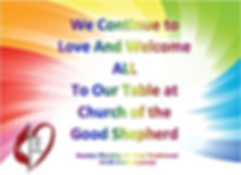 Rainbow All are welcome.JPG
