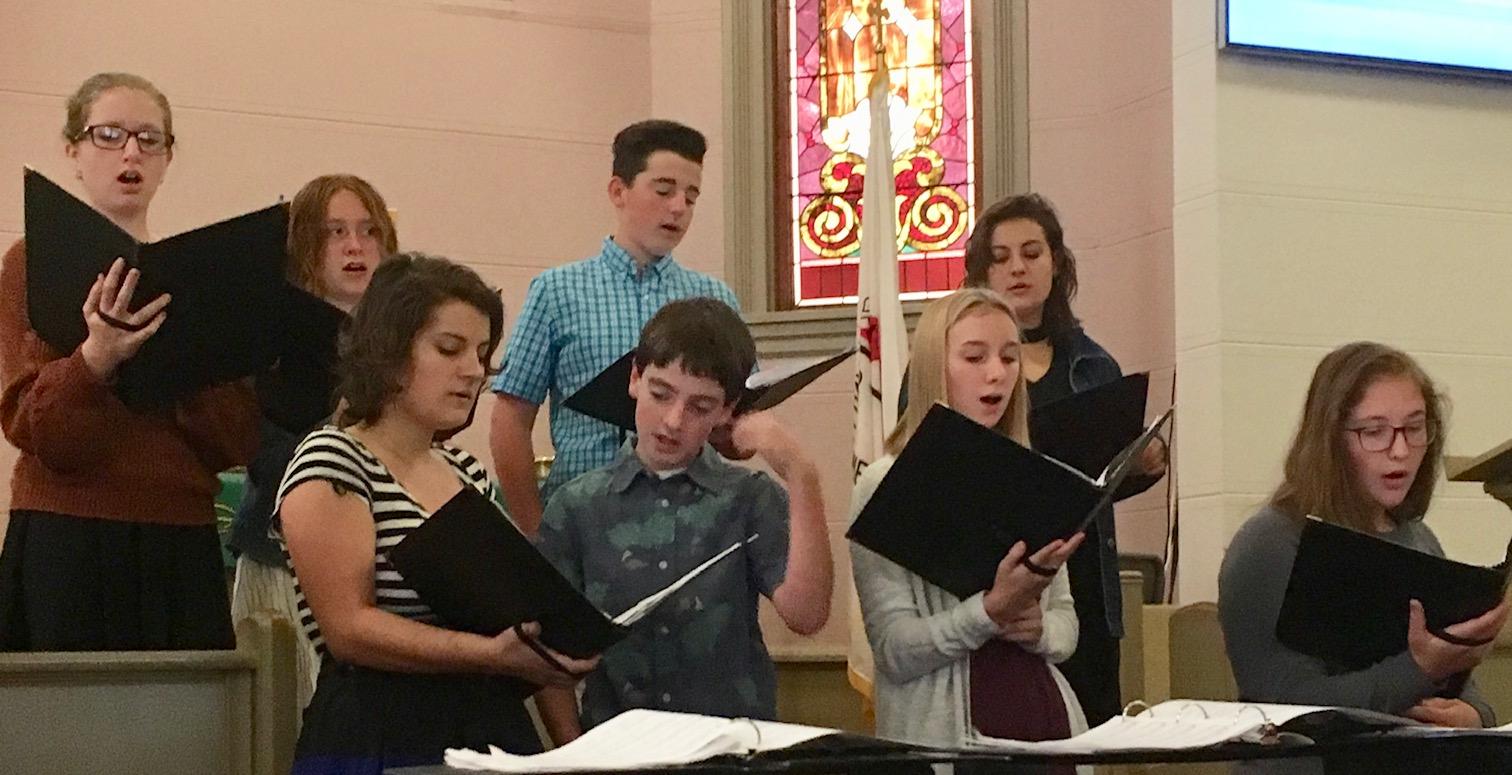 Youth Choir 9-19 1