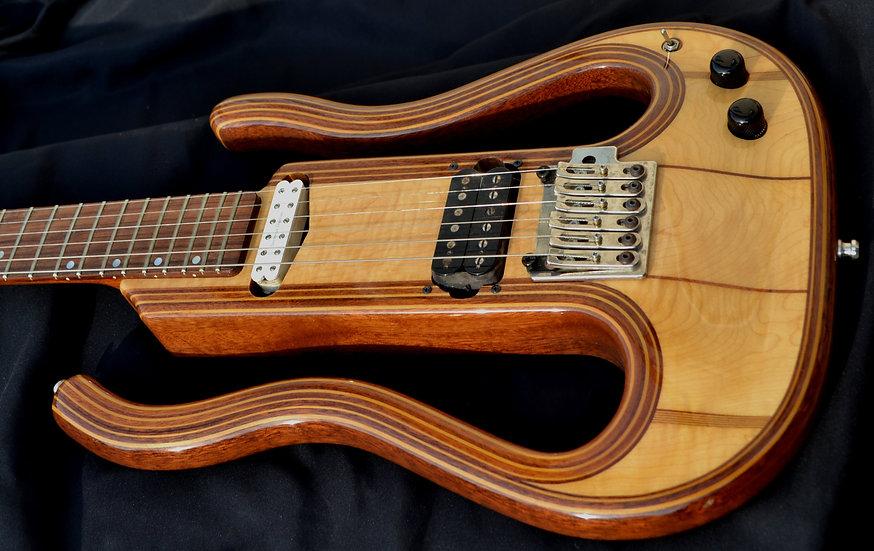 Trajik Electric Guitar Custom Built
