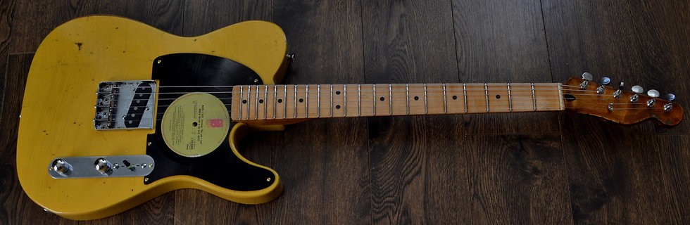 Fender Mexican Relic Esquire Guitar