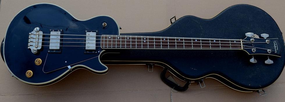 70s Shaftesbury Les Paul Bass Guitar