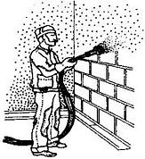Промывка стен