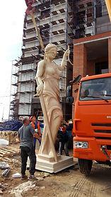 скульптура Фемиды из стеклопластика (2).