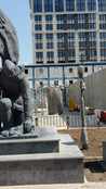 Скульптура-памятник солдата