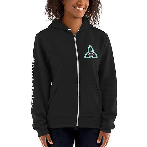 My Trinity Hoodie Zip Sweater