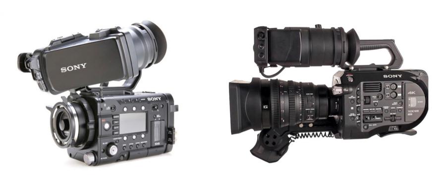 2 Sony Video Cameras