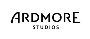 The words Ardmore Studios written Black on white Background
