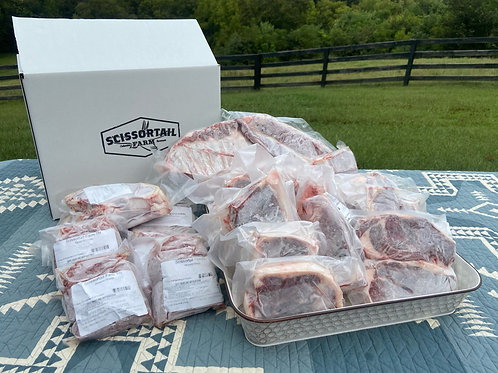 Wholesale Half Lamb-  Leg Steaks Option 2b